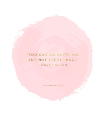 anything not everything